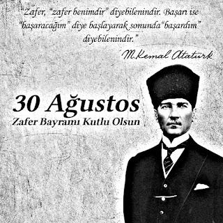 30 AGUSTOS ZAFER BAYRAMIMIZ KUTLU OLSUN