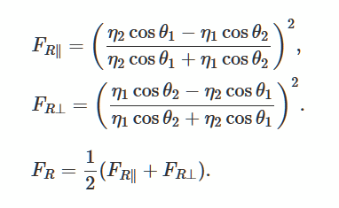 Fresnel Equation