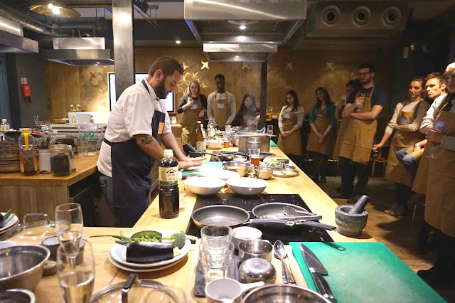 A Taste of Japan at Jamie Oliver's Cookery School