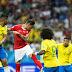 """Suíça """"ofusca"""" golaço de Coutinho, e Brasil só empata na sua estreia na Copa"""
