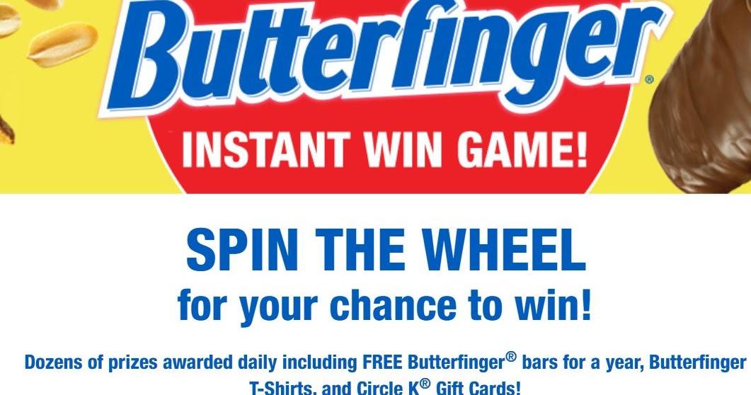 Circle K Butterfinger Instant Win Giveaway - 800 Winners Win