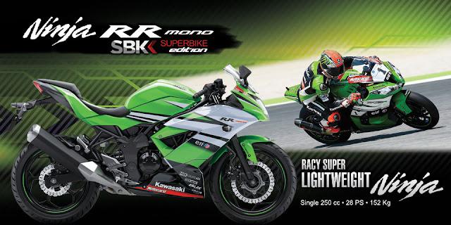 Harga Motor Kawasaki Ninja Baru Februari 2016