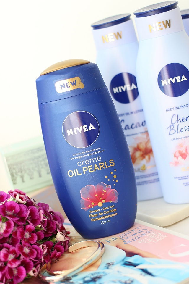 Nivea Shower Creme & Oil Pearls