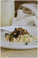 curry vegetariano de berenjena- recetas con berenjena- receta de dieta con berenjena