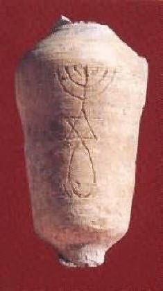 This artifact clearly shows that early Christians practiced annointing
