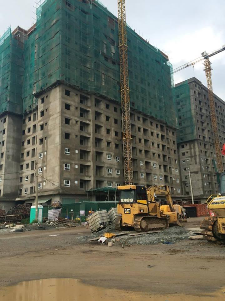 Tiến độ xây dựng chung cư HH02-1A Thanh Hà