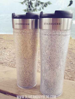 DIY Glitter Travel Mug