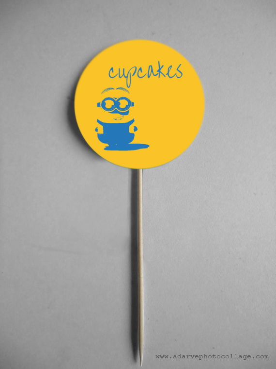 free cupcake toppers for kids parties
