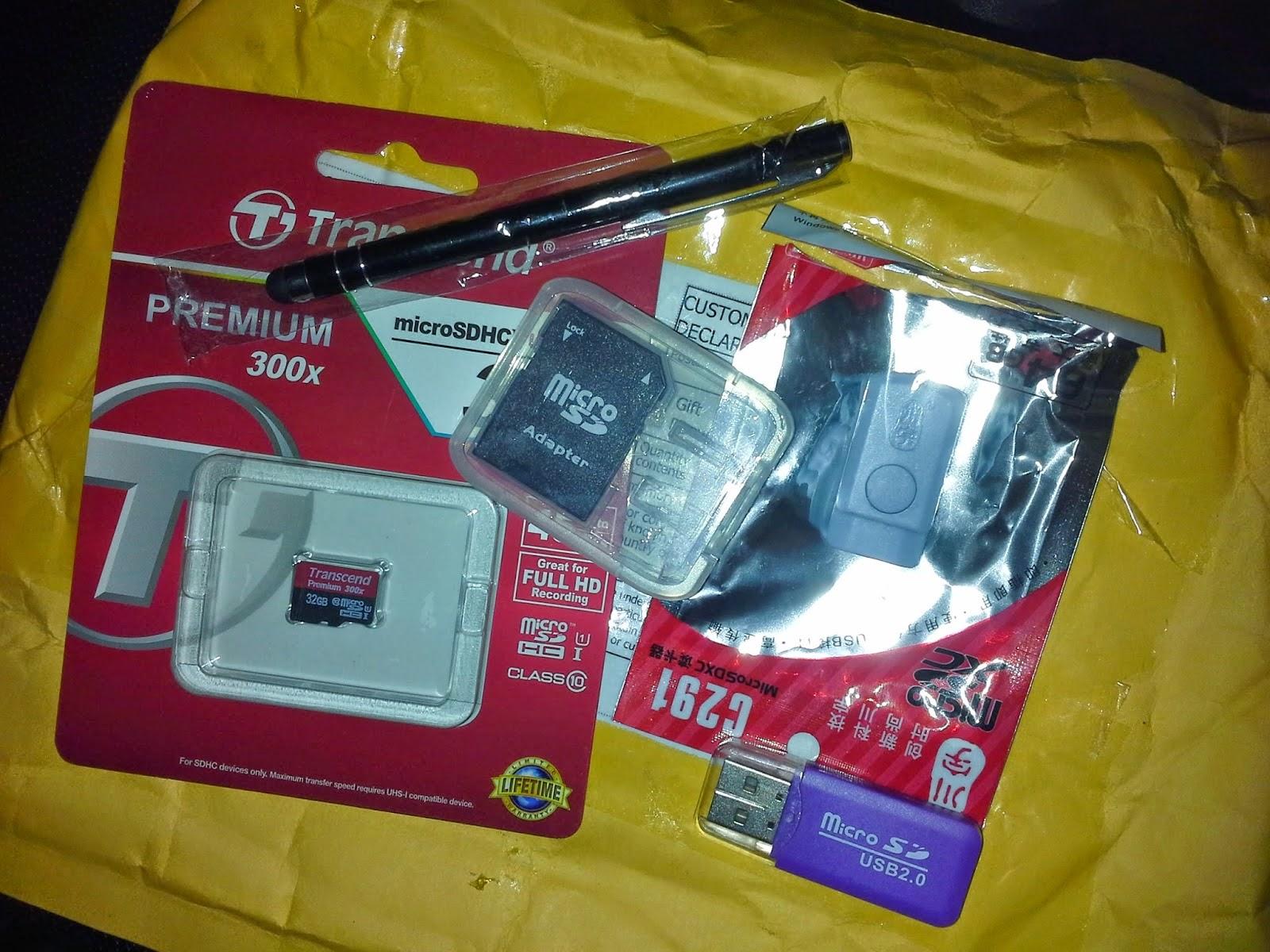 memory card jenama TRANSCEND