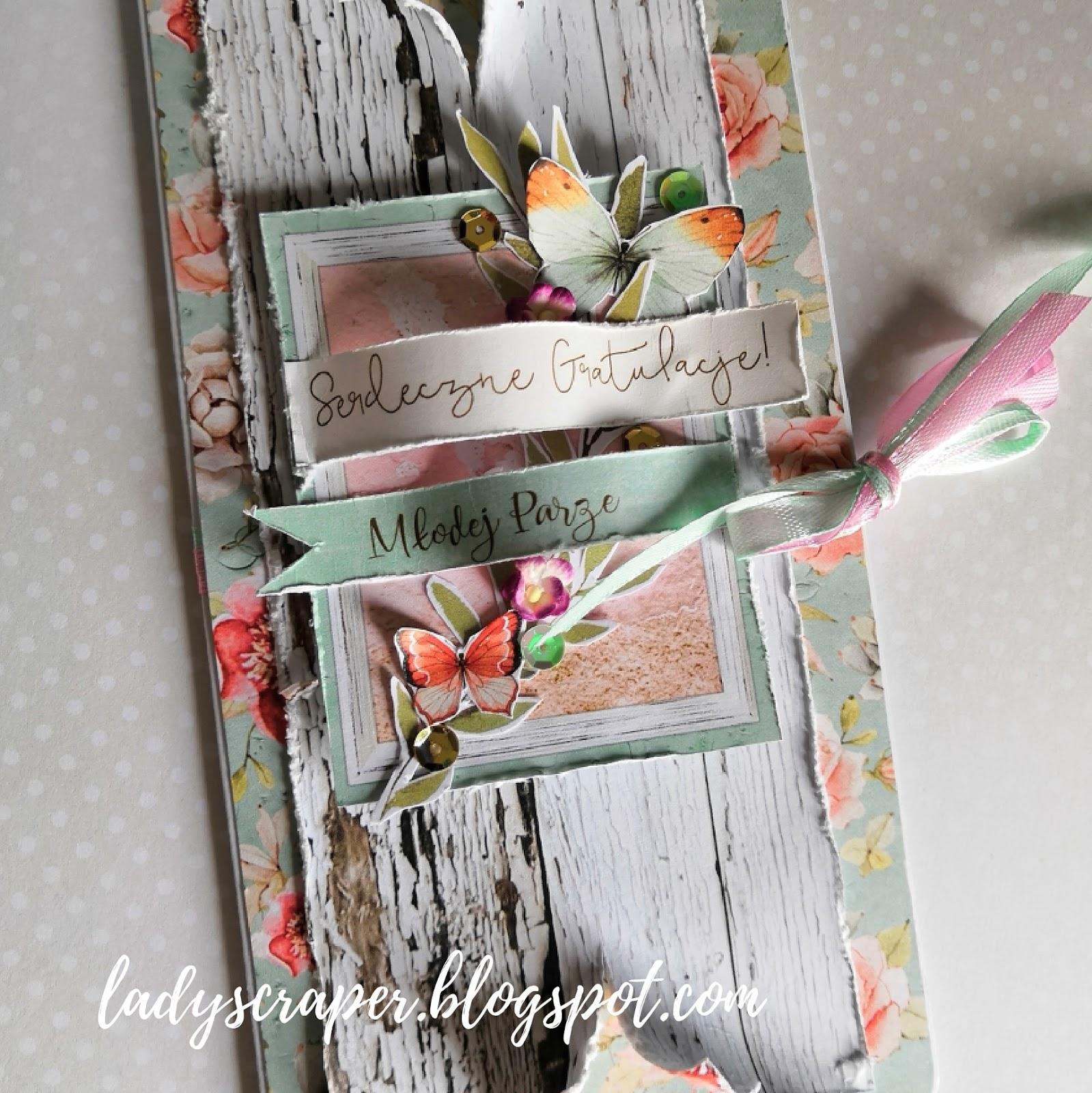 Kartki ślubne na różne sposoby