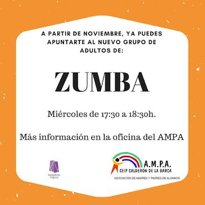 Zumba Adultos Miércoles