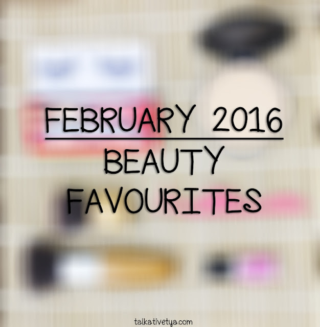 February 2016 beauty favourites products