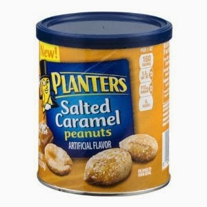 review of Planters Salted Caramel Peanuts