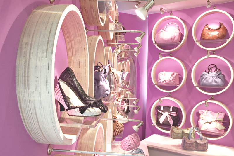 Retail Interior Design Whimsy Boutique Powerplant Mall Rockwell Center Makati City Manila The Philippines Archipelago Interiors Images