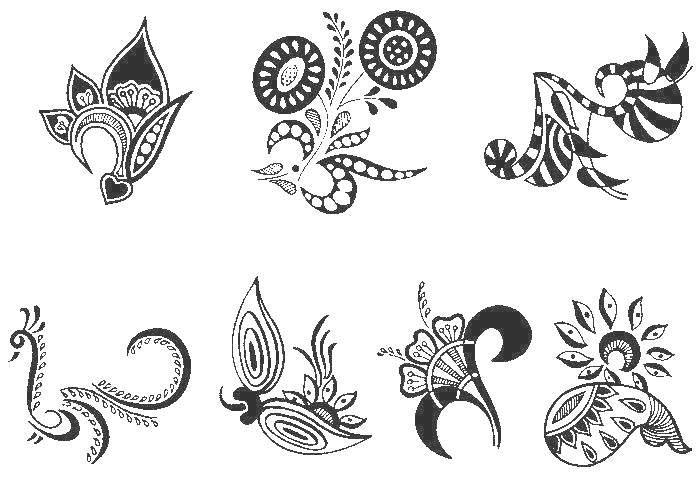 Printable Henna Tattoo Designs: Joy Studio Design Gallery - Best