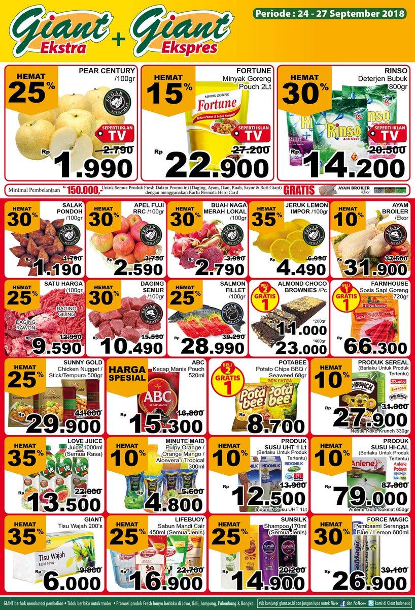 Giant - Katalog Promo Periode 24 - 27 September 2018