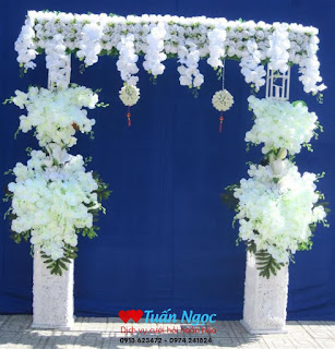 cổng hoa cưới đẹp nhất 2