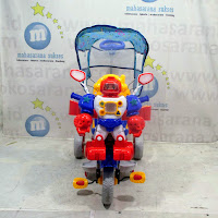 family robot baby tricycle
