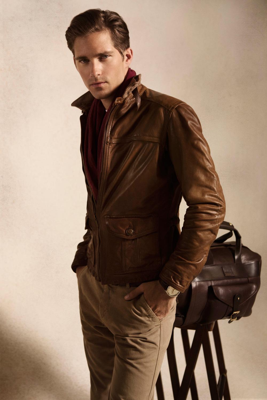 Simple Coat For Men S Massimo Dutti September 2012