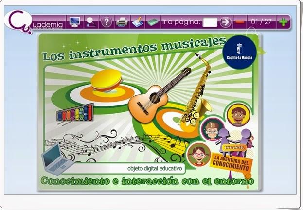 Los instrumentos musicales Música de Educación Infantil