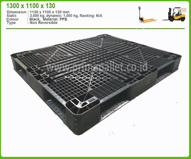 Jual Pallet Plastik Bekas 1300 x 1100 x 130 mm