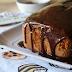Dolci fatti in casa: plumcake all'arancia ricoperto di cioccolato