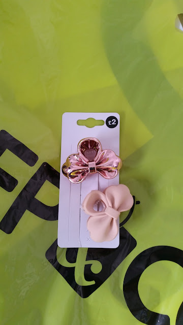 Pep & Co, Rose and Nude Hair Clips