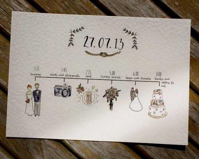 tarjetas de bodas original