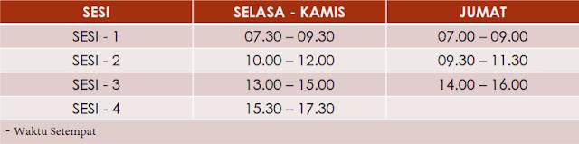 Jadwal Simulasi UNBK SMP/SMA/SMK 2019 Revisi Lengkap