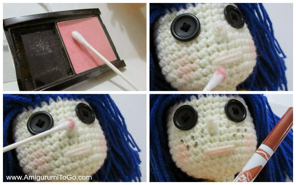 Crochet Coraline Doll Revised 2013