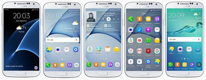 Fixed Rom ] Samsung Galaxy S4 GT-I9505 S6/S7/N4/N5 Style V