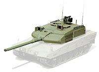 Altay tankının taret bölümü