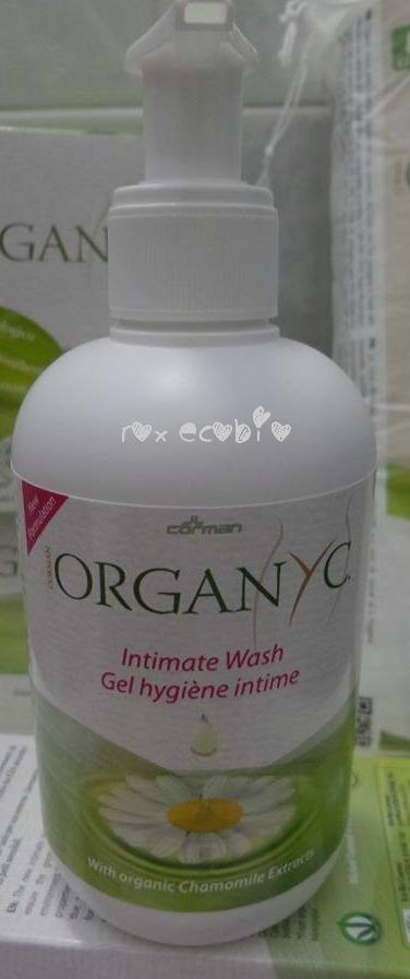 Organyc detergente intimo ecobio biologico