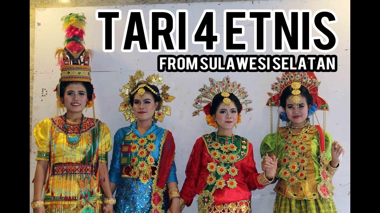 43 Contoh Baju Adat 4 Etnis Sulawesi Selatan Paling Unik