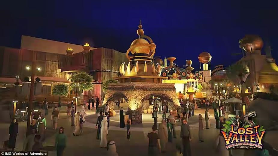 2 Photos: World's largest theme park with capacity of over 30,000 people at a time set to open in Dubai