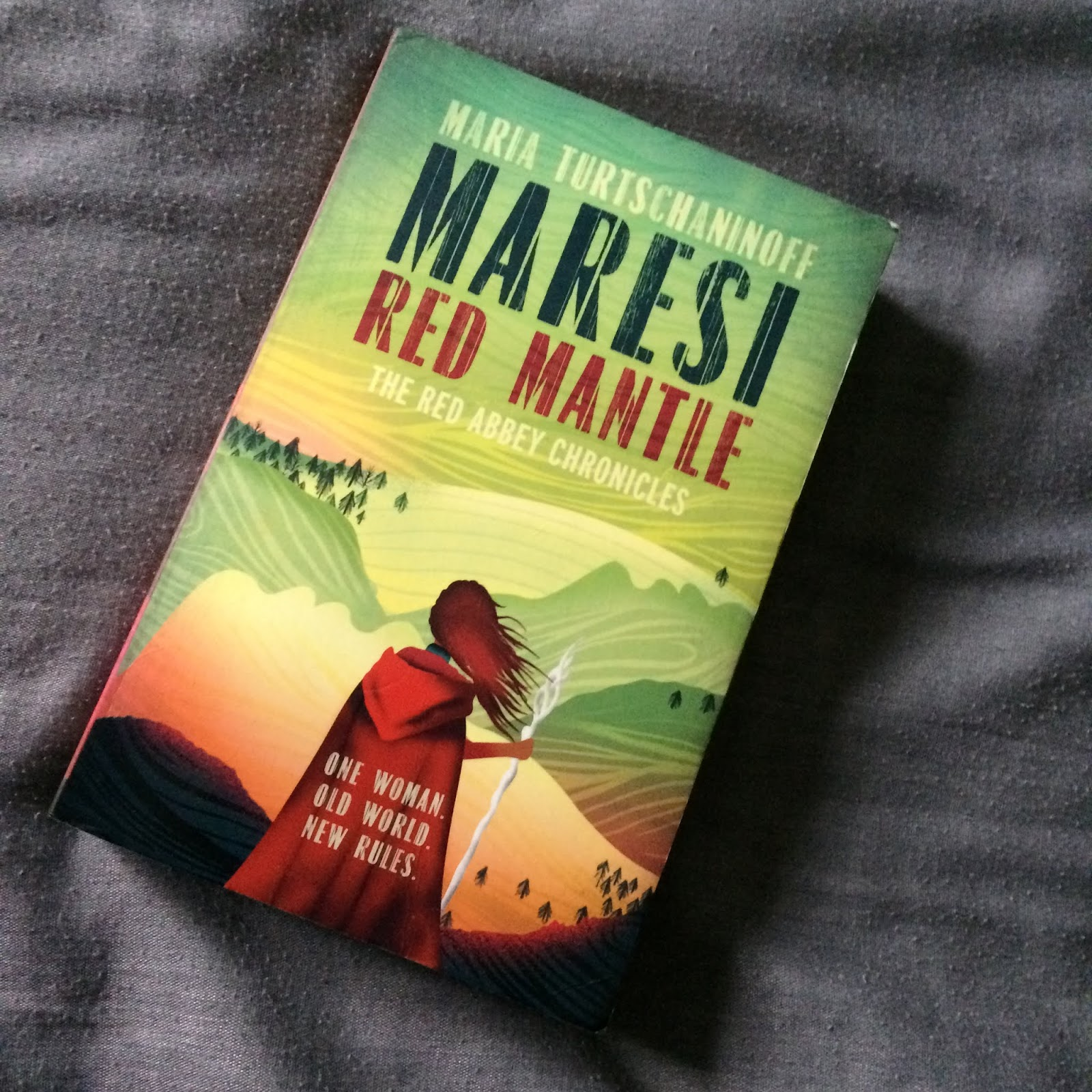 Maresi Red Mantle by Maria Turtschaninoff