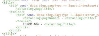 5. Replace <title><data:blog.pageTitle/></title> with the following code