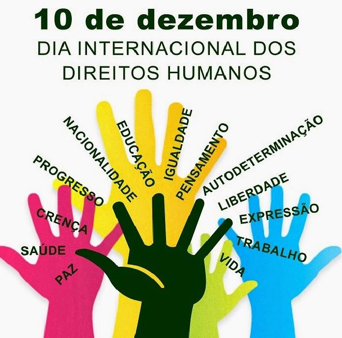 Resultado de imagem para Homenagem ao Dia dos Direitos Humanos