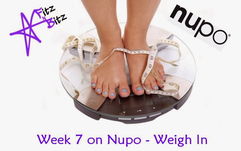 Wednesday Weigh In #8 - Nupo Journey