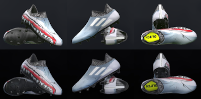 PES 2018 / PES 2017 Adidas Glitch Pack Skin 3 Shark Jr by Tisera09
