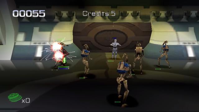 Star Wars: Jedi Power Battles - PSX - Captura 1