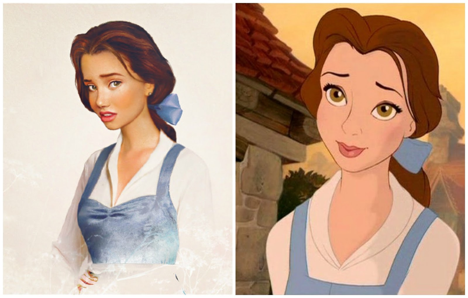These Disney Princess Real Life Makeovers Are Seriously
