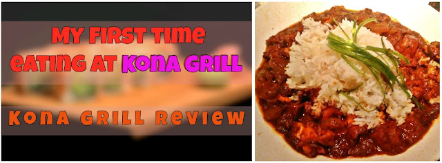Kona Grill Review Troy, Michigan sushi restaurant date night