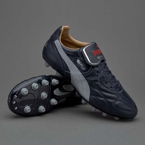 Puma King Top City di Paris FG-Navy Blue-Puma Silver