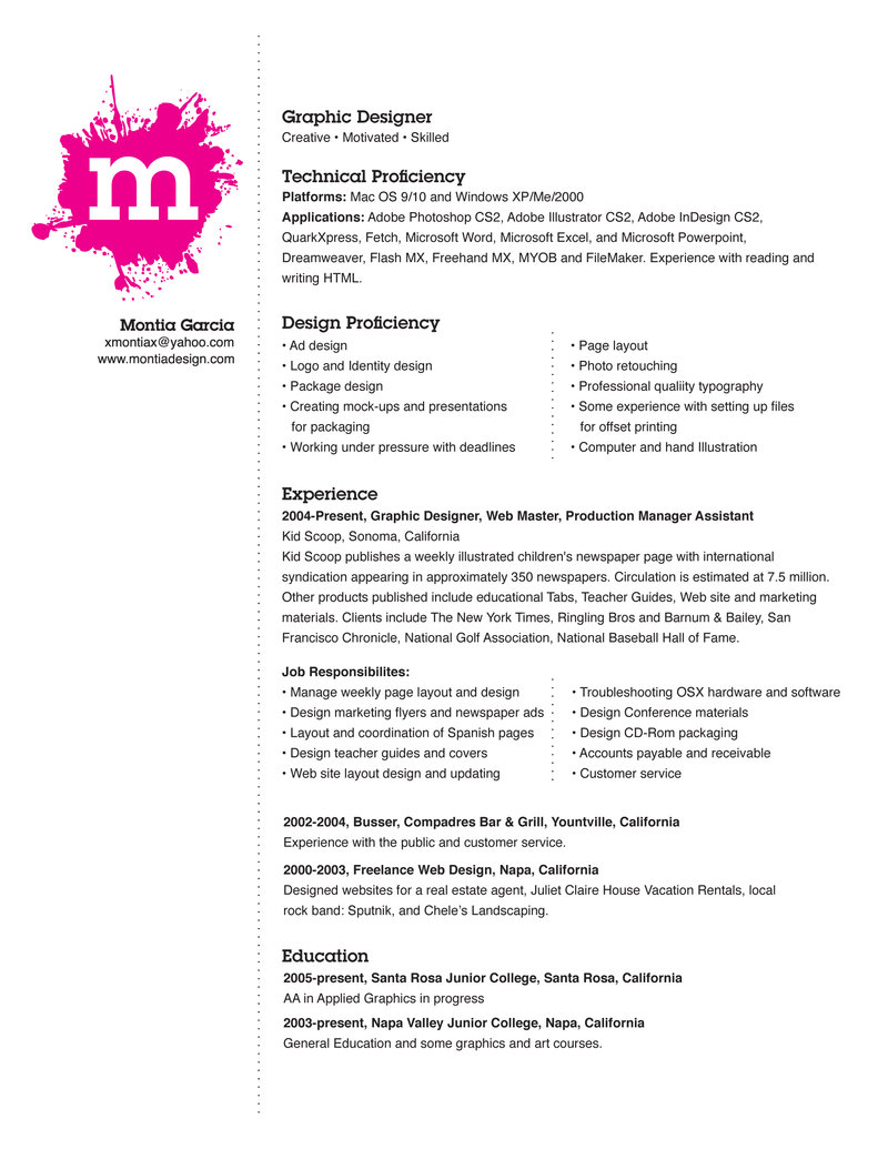 sample resume format for experienced it professionals sample resume