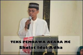 Contoh Teks Mc Pembawa Acara Sholat Idul Adha