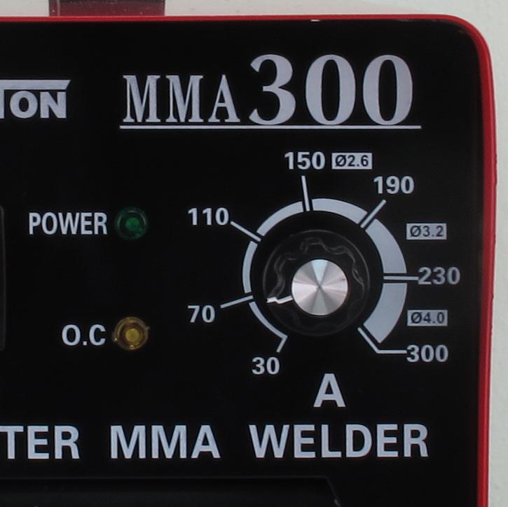 ตู้เชื่อมไฟฟ้า 300A ตู้เชื่อมอินเวอร์เตอร์ Inverter พร้อมอุปกรณ์