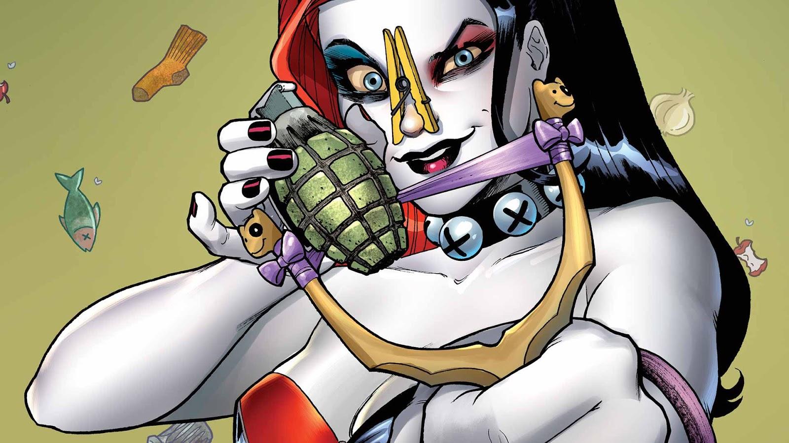 Image Result For Harlequin And Joker