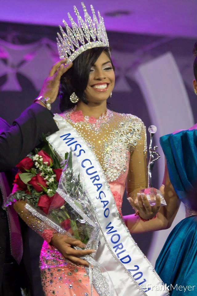 Gayle Sulvaran - Miss World Curaçao 2014