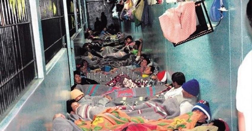 Cada interno en la cárcel le cuesta 5 mil soles a todos los peruanos